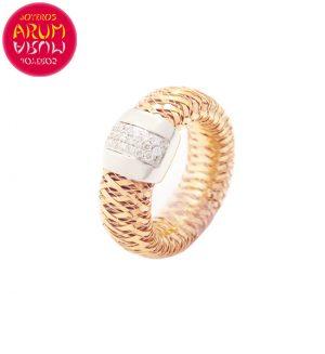 Roberto Coin Ring Rose Gold Diamonds RI2387R