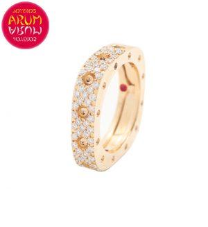 Roberto Coin Ring Rose Gold and Diamonds RI1060