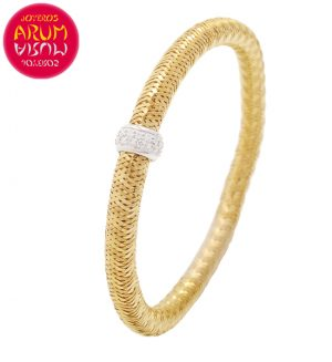 Roberto Coin Bracelet 18K Yellow Gold and Diamonds BR2543