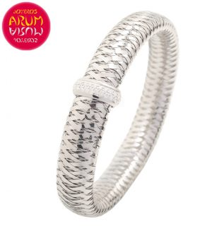 Roberto Coin Bracelet 18K White Gold and Diamonds BR2388