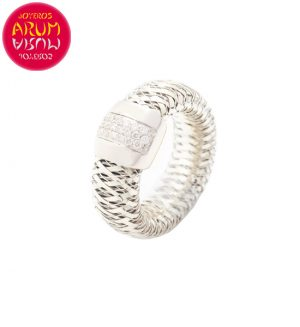 Roberto Coin Ring White Gold Diamonds RI2387B