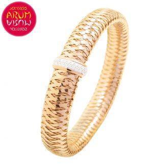 Roberto Coin Bracelet 18K Rose Gold and Diamonds BR2388R