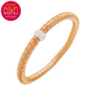 Roberto Coin Bracelet 18K Rose Gold and Diamonds BR2543R