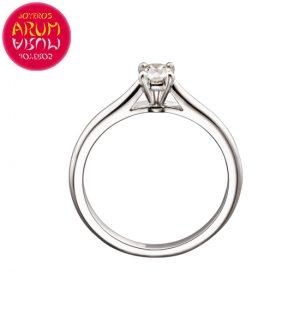 Cartier Ring Platinum with Diamond 0.45 cts RAJ1239