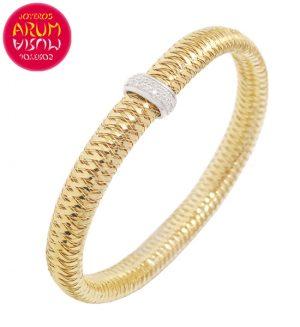 Roberto Coin Bracelet 18K Gold and Diamonds BR2387A