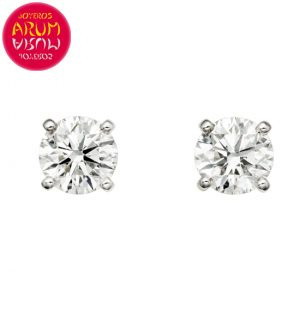 Cartier Earrings White Gold with Diamond 0.45 ct. RAJ1240