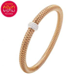 Roberto Coin Bracelet 18K Rose Gold and Diamonds BA1885R