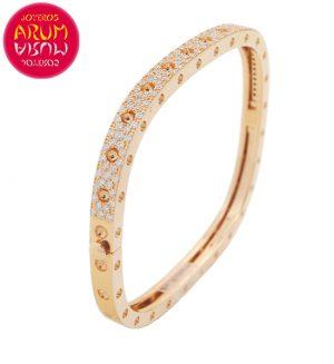 Roberto Coin Bracelet Rose Gold and Diamonds BA1060