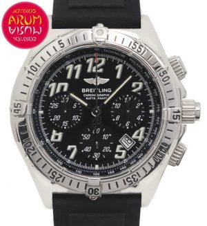 Breitling Chronograph Rattrapante Shop Ref. 4813/1438