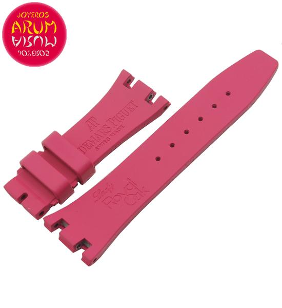 Z Audemars Piguet Lady Strap Pink Rubber 21-16 RAC1231