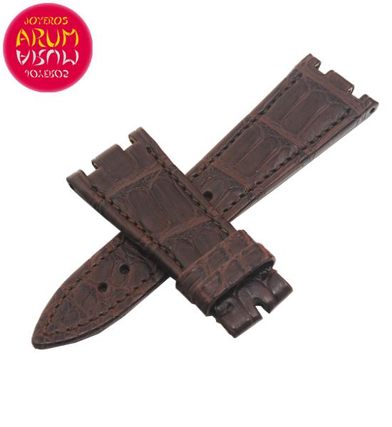 Z Audemars Piguet Strap Brown Crocodile Leather 22-16 RAC1232