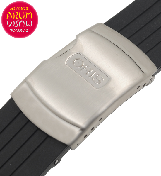 Z Oris Strap Rubber with Deployant 24mm RAC93