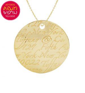 Pendant & Chain Tiffany & Co Gold RAJ1252