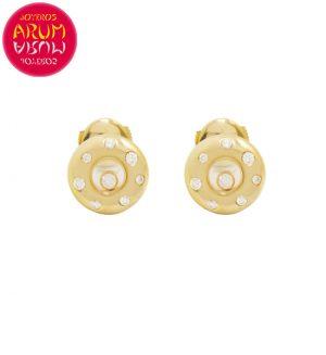 Chopard Earrings Yellow Gold and Diamonds RAJ1246
