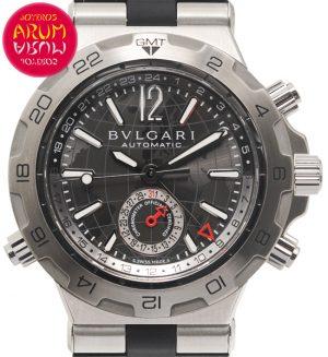 Bulgari Diagono GMT Shop Ref. 4847/1472