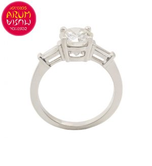 White Gold Ring with Diamond 4,01 ct. RAJ1272S
