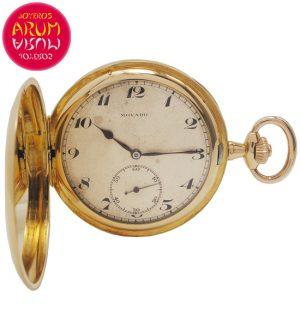 Pocket Watch Movado 18K Gold Shop Ref. 4924/1549