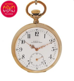 Pocket Watch Waltham Shop Ref. 4925/1550