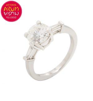 White Gold Ring with Diamond 1.06 ct. RAJ1148S