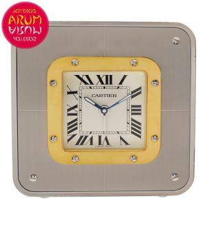 Cartier Santos Desk Clock Shop Ref. 5010/1635