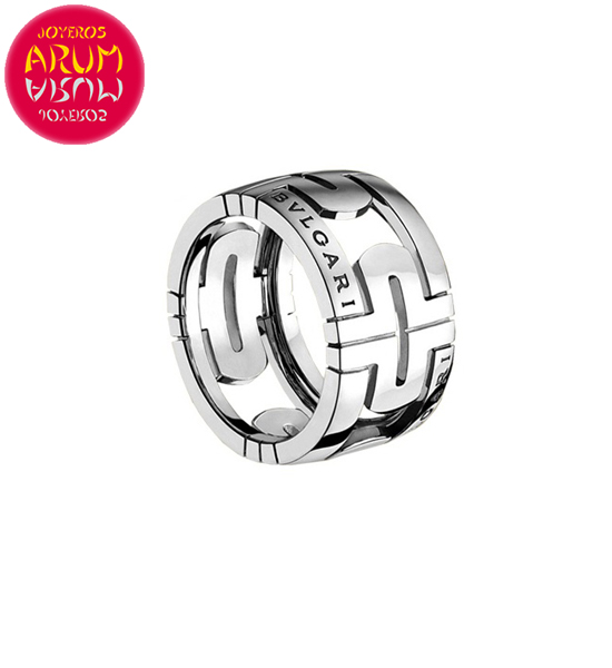 Bulgari Parentesi Ring White Gold RAJ1386