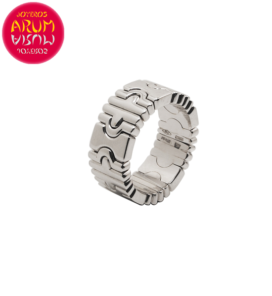Bulgari Parentesi Ring White Gold RAJ1378