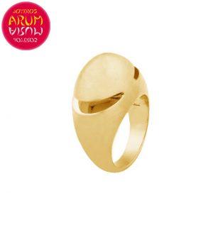 Bulgari Cabochon Ring Yellow Gold RAJ1382