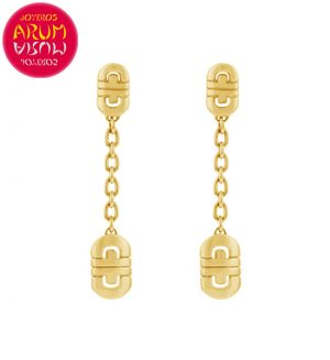Bulgari Parentesi Earrings Yellow Gold RAJ1389