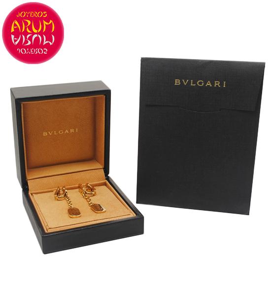 Bulgari Parentesi Earrings Yellow Gold RAJ1389