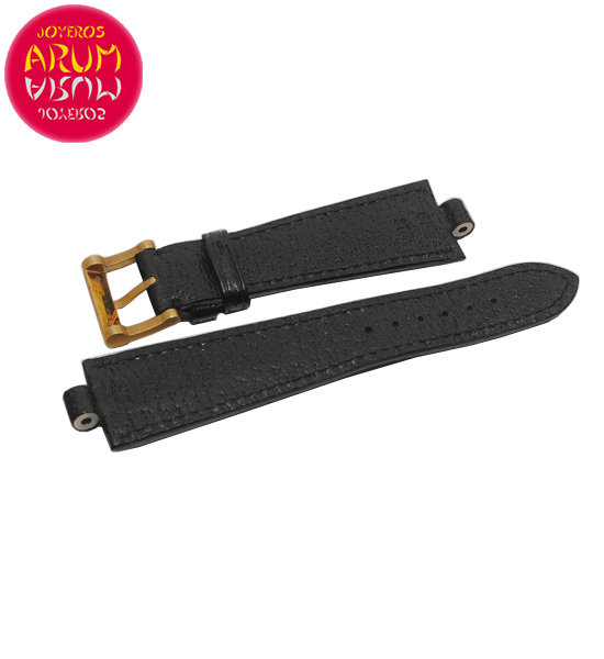 Z Bulgari Strap 22mm with 18K Gold Buckle RAC1416