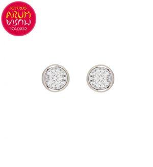 Earrings 18K Gold with Diamonds 1.20 cts. RAJ1456