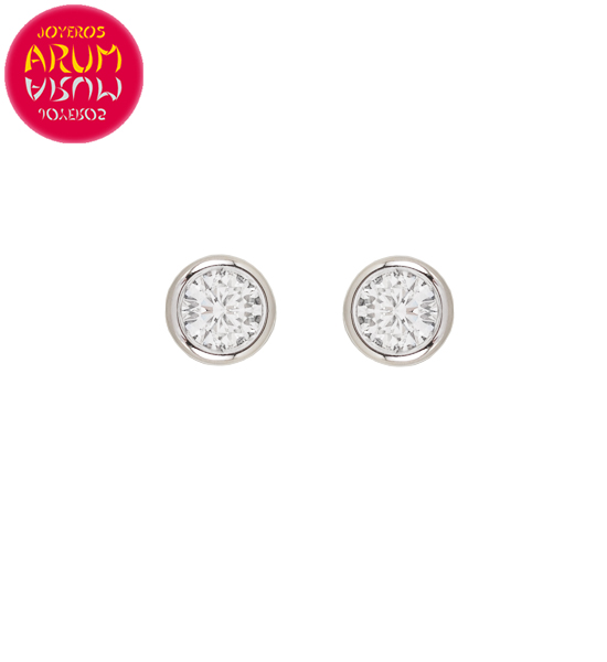Earrings 18K Gold with Diamonds 1.20 cts. RAJ1456