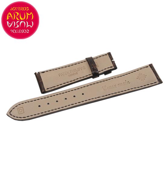 Z Patek Philippe Strap Crocodile Leather 19-16 RAC1020