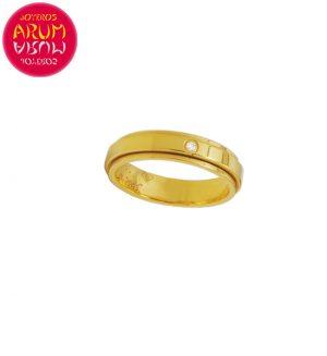 Piaget Ring Yellow Gold with Diamond RAJ1497