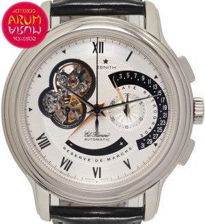 Zenith Chronomaster Platino Shop Ref. 4425/1149