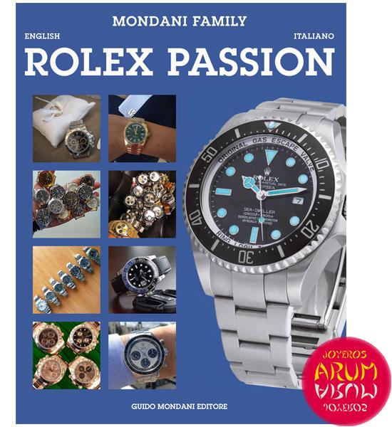 Rolex Passion Mondani Editore Book