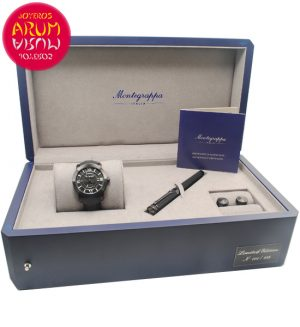 Montegrappa Box-Watch-Rollerball-Cufflinks 5426/2051
