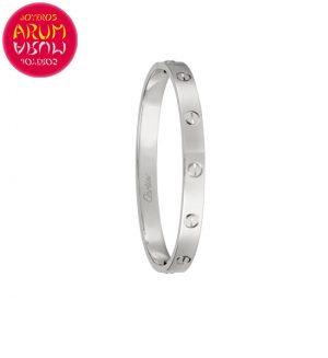"Cartier Love Bracelet White Gold RAJ1508 ""SOLD"""