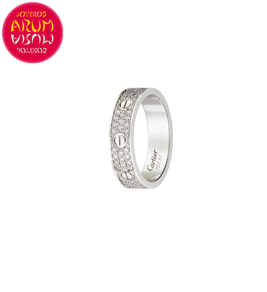 Cartier Love Ring RAJ1529