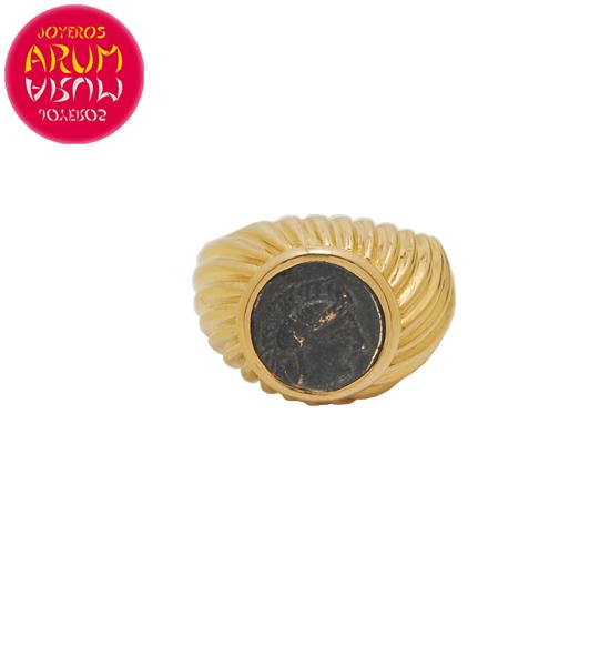 """Bulgari Ring Antique Coin RAJ1512 """"SOLD"""""""