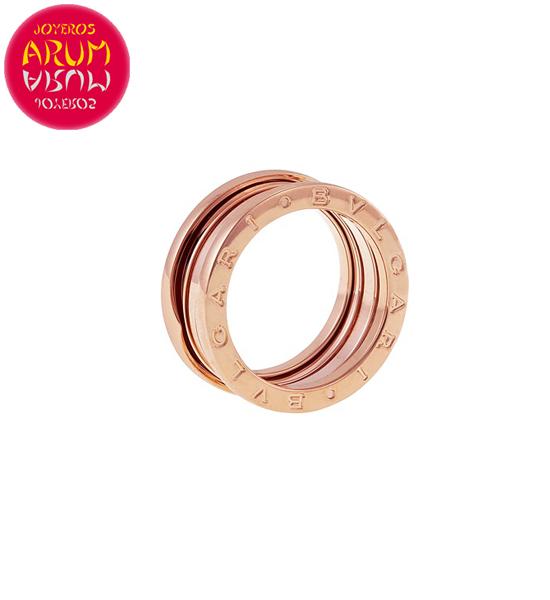 Bulgari B.Zero1 Ring Rose Gold 3 Band RAJ1160