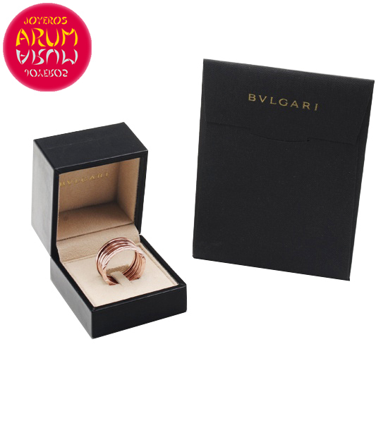 Bulgari B.Zero1 Ring Rose Gold 3 Band RAJ1160