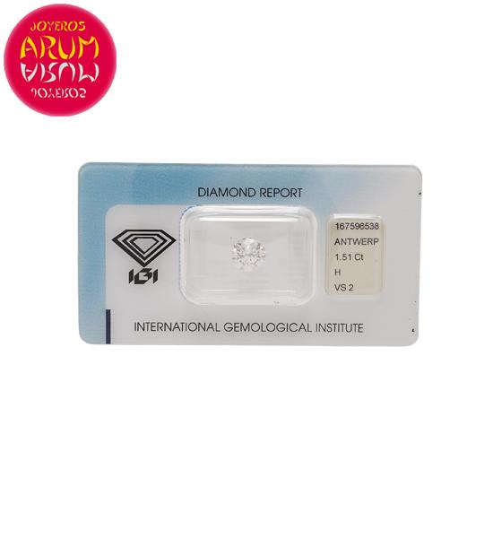 Diamond for Investment 1.51 ct. RAJ1531