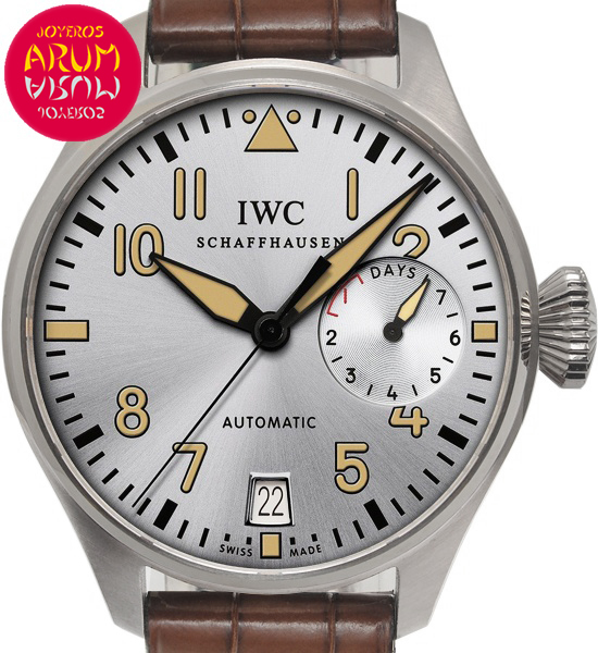 IWC Big Pilot Platinum Father Shop Ref. 4992/1617
