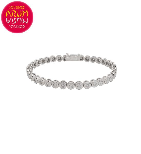 Riviere Bracelet Gold and Diamonds 1.54 ct. RAJ1526