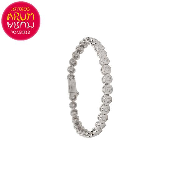 Riviere Bracelet Gold and Diamonds 1.94 ct. RAJ1525