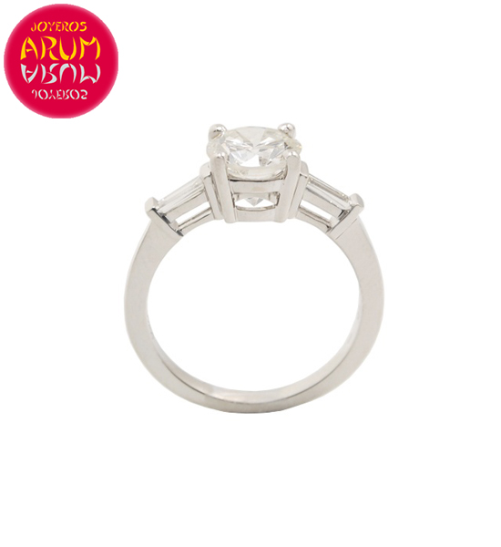 White Gold Ring with Diamond 1.36 ct RAJ1505