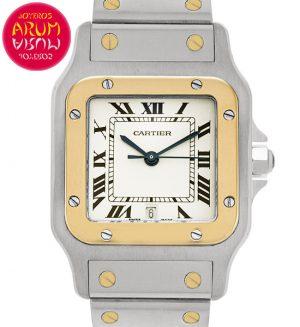 Cartier Santos Galbee Shop Ref. 5535/2160