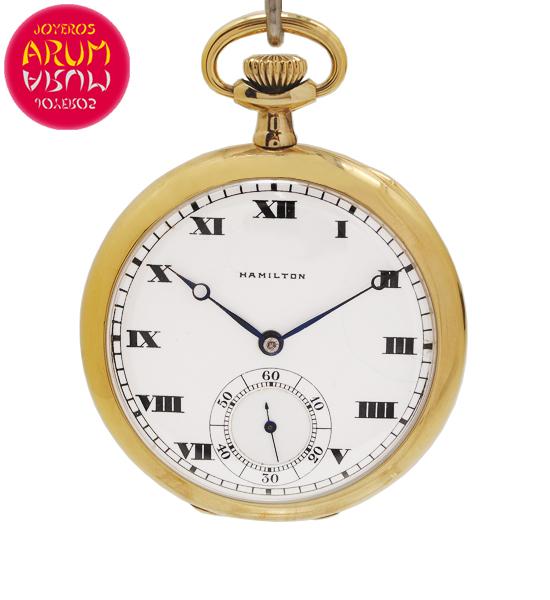 Hamilton Pocket Watch Shop Ref. 5467/2092