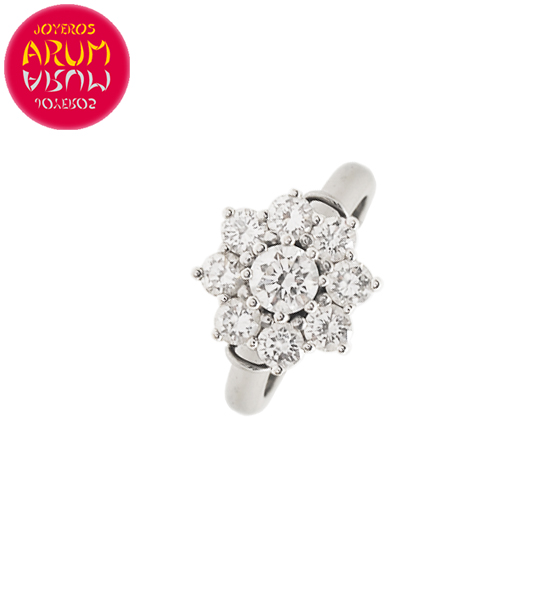 Perodri Ring White Gold with Diamonds RAJ1544